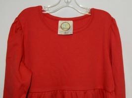 Blanks Boutique Long Sleeve Empire Waist White Ruffle Dress Size 5T image 2