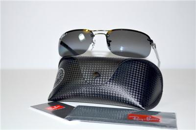 New Authentic Ray Ban Mirror Polarized Sunglasses RB8310 004/82 RB 8310 P3 Lens