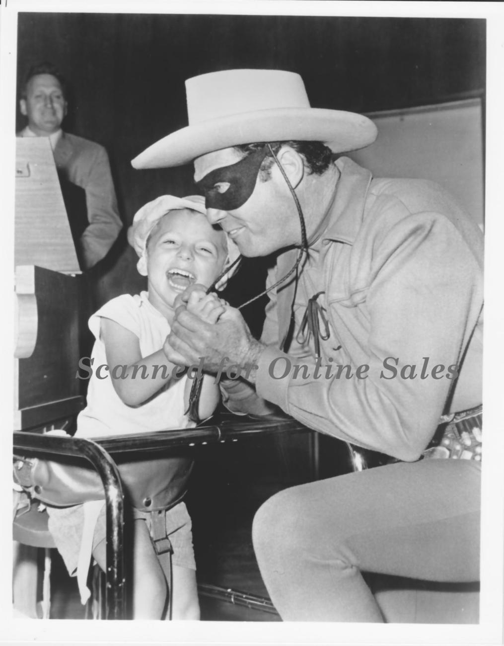 Lone Ranger with Small Fan 8x10 Photo