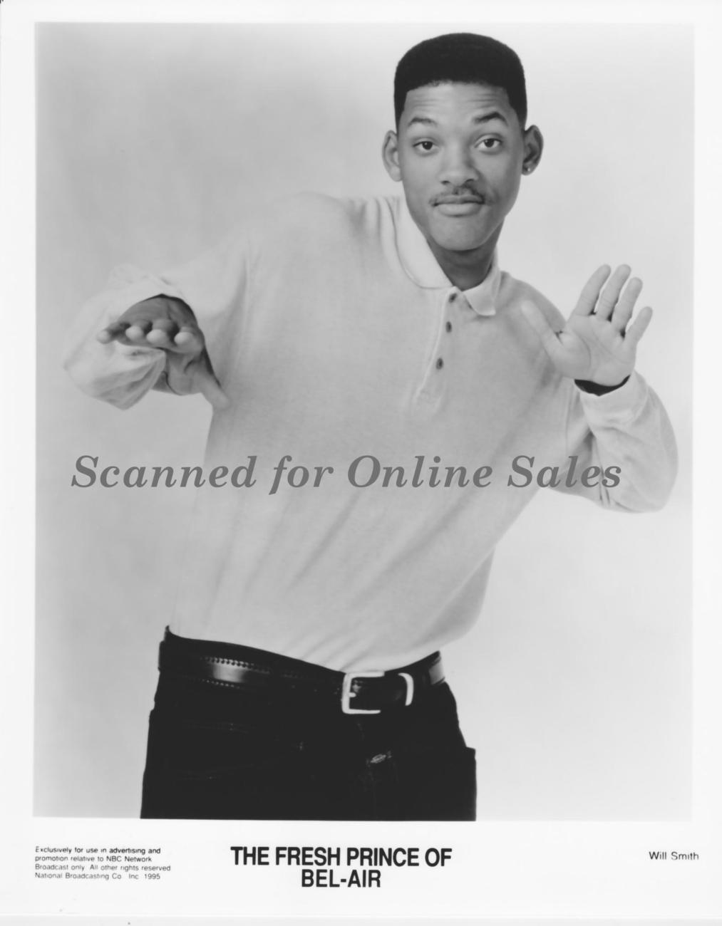 Will Smith The Fresh Prince of Bel-Air 8x10 Photo
