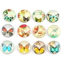 12 Pack Butterfly Pattern Fridge Magnets Set,Perfect Refrigerator Magnet... - $11.71