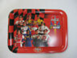 Coca Cola Metal  NASCAR Driver's TV Tray - New -  - $9.41