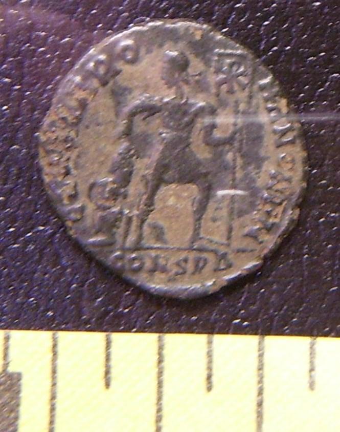 "Ancient Roman Coin ""Emperor w/Captive #2 Unattrib AD364+"