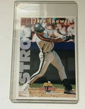 "1993 TOPPS BASEBALL LARGE JEFF BAGWELL CARD 3.5"" X 5""     # 8 OF 21 - $0.99"
