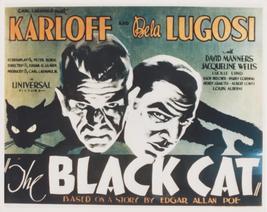 The Black Cat Boris Karloff Bela Lugosi 8x10 Photo - $6.99