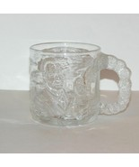 BATMAN FOREVER McDONALDS TWO FACE GLASS COFFEE MUG MOVIE PROMO 1995 CUP 3-D - $9.99