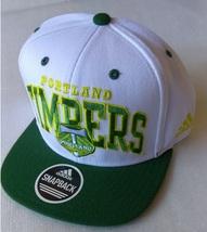 Adidas MLS Portland Timbers Soccer Hat Cap Snap Back Flat Brim One Size - $20.00