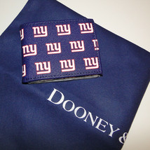 Dooney & Bourke NFL New York Giants Billfold Wallet Navy