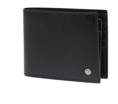[MONT BLANC] Men's Leather Half Wallet 6cc 38036 image 2