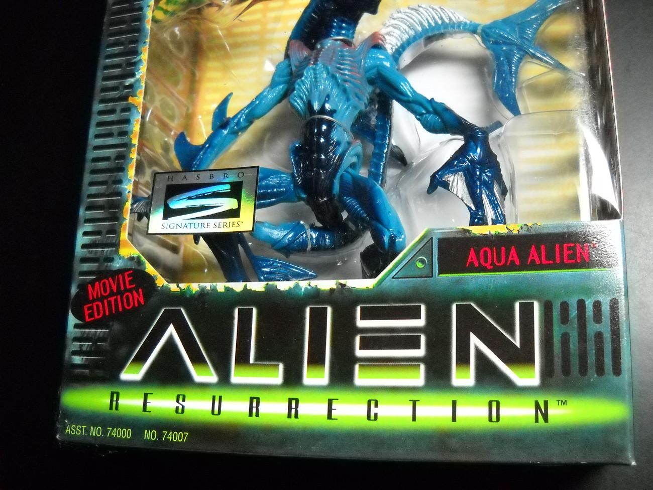 Kenner Hasbro Aliens Alien Resurrection Aqua Alien 1997 MIB Factory Sealed Box