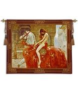 64x53 LADY GODIVA Woman Horse Medieval Fine Art Tapestry Wall Hanging - $330.00