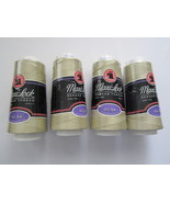 Maxi Lock Serger Thread 3,000 yards Khaki 4 cones - £11.20 GBP