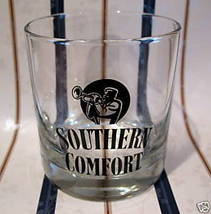 SOUTHERN COMFORT WHISKY Glass TRUMPET HORN PLAYER Whiskey Collectible So... - $7.95