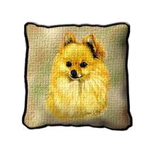 "17"" Large POMERANIAN Dog Pillow Cushion Tapestry - $32.50"