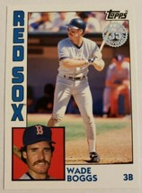 2019 Topps 35th Anniversary Insert #T84-24 Wade Boggs Boston Red Sox - $2.00