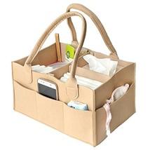 VANCORE Baby Diaper Caddy Organizer Bag Felt Nursery Storage Bag Toy Sto... - $31.17