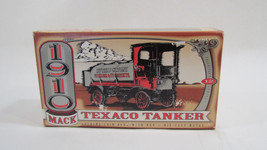 ERTL 1910 Mack Texaco Tanker Collector Series 12 Coin Bank with Lock and Key  - $17.95
