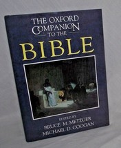 Oxford Companion Bible Metzger Coogan Reference Interpretive Essays Fact... - $24.74