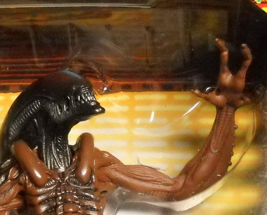 Kenner Hasbro Aliens Alien Resurrection Warrior Alien 1997 Factory Sealed Box