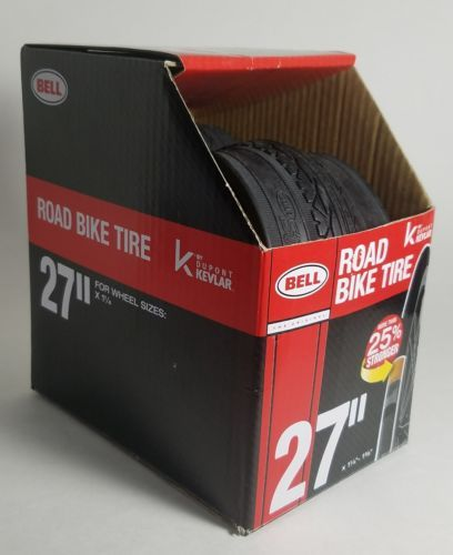 "New The Original Bell Road Bike Tire with KEVLAR, 27"" x 1 1/4"" - 1 3/8"", Cycling"