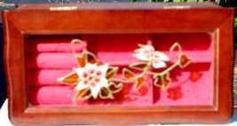 Mele Wood Stained-glass effect Jewelry Box - $9.00