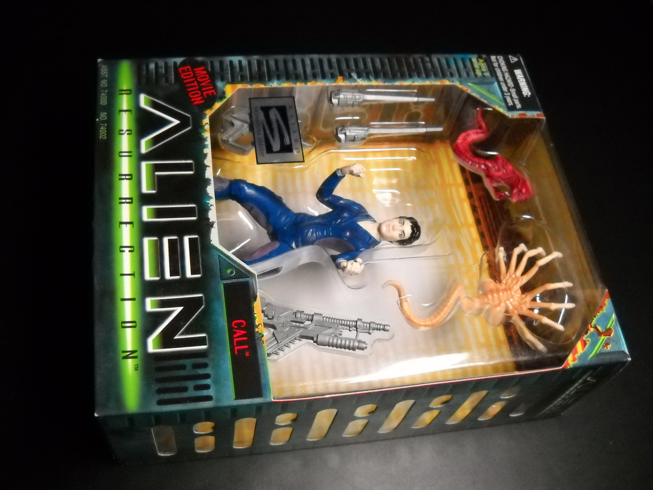 Toy aliens kenner hasbro 1997 alien resurrection call boxed sealed 01