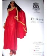 Roman Empress Womens Sexy Adult Costume SZ LG 12-14 Red NEW - $24.99