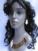 Mujer Sexy Metal Dorado Lightning Flechas Encanto Moda Joyería Collar Set image 5