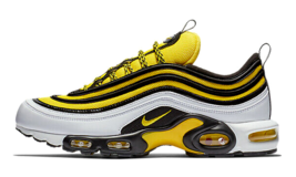 "NIKE AIR MAX PLUS / 97 ""FREQUENCY PACK"" SIZE 8.5 NEW FAST SHIPPING (AV79... - $134.55"