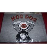 "Harley Davidson Pet Hog Dog T-Shirt SZ Large 20""-24"" NEW Gray  - $15.99"