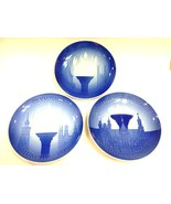 B&G Set 3 Olympic Plates 1972-80 Munich Montreal Moscow Russia Plate-7-y017d - $99.00