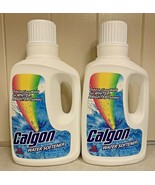 (2) Calgon Liquid Water Softener Laundry Detergent Booster 32 Oz Discont... - $69.95