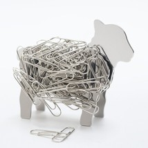 Lamb Sheep Design Stainless Steel Metal Magnetic DIY Binder Paper Clip H... - $563,81 MXN