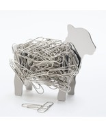 Lamb Sheep Design Stainless Steel Metal Magnetic DIY Binder Paper Clip H... - £23.44 GBP
