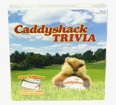 Caddyshack Trivia Play A Round  Over 1000 Trivia Questions USAopoly New Sealed - $44.50