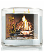 Bath & Body Works Marshmallow Fireside Three Wick 14.5 Ounces Scented Ca... - $23.95