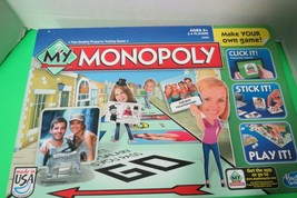 My Monopoly Make Your Own Game Hasbro Parker Brothers Board Games Complete - $14.85