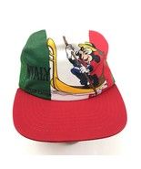 VINTAGE Mickey Mouse Trucker Hat ITALY Epcot Center Disney 1982 UNION US... - $186.03