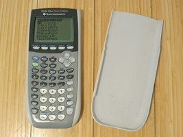 Texas Instruments TI-84 Plus Silver Edition Graphing Calculator - Silver - $65.44
