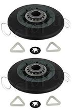 2Pack Dryer Drum Roller Fits W10314173 WPW10314173 AP6019303 PS11752609 - $11.75