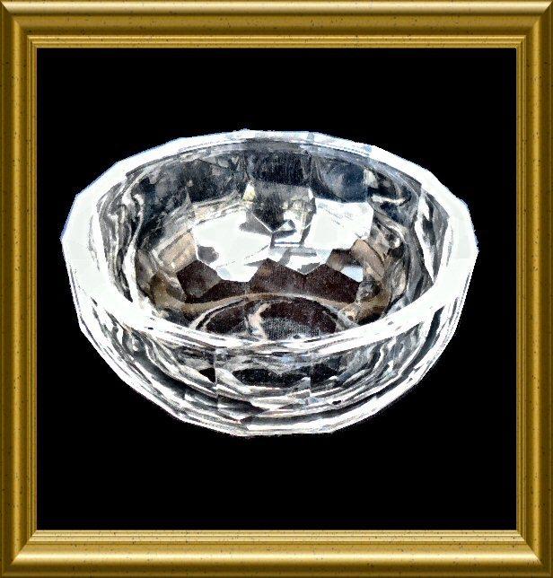 Oleg Cassini Crystal Bowl In Original Box And 16 Similar Items