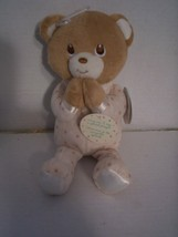 "Prayer Pal By Kids Preferred, Bear, Recites ""Jesus Love Me,"" Brand New - $10.99"