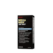 GNC Mega Men One Daily Multivitamin for Men, 60 Count, Take One A Day for 19 Vit