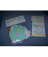 baby shower invitations and banner - $1.00