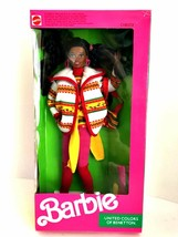 Barbie 9407 Christie Doll United Colors of Benetton 1990 Mattel New in Box - $68.30