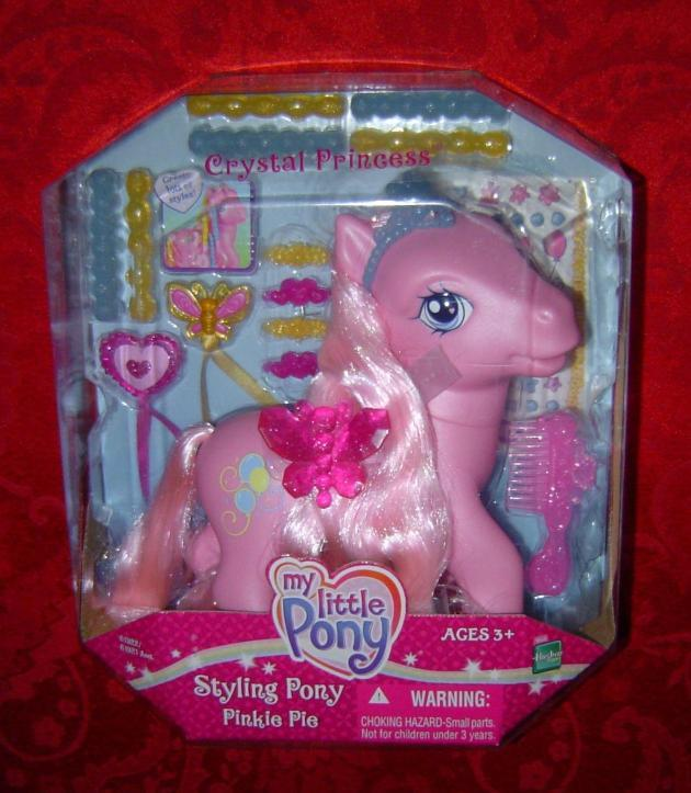 Primary image for My Little Pony Styling Pony Pinkie Pie Hasbro 2005