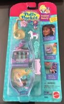 vintage Polly Pocket Arabian Beauty Compact Purple Horse Set NEW MOC 199... - $159.99