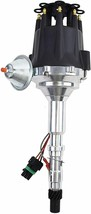 Pro Series R2R Distributor for AMC Jeep V8 Engine, Black Cap