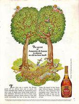 Amaretto di Amore Full Page Color Print Ad Near Mint - $7.49