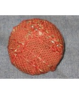 Vintage Red Upholstery Furniture Buttons HANDY ... - $3.00